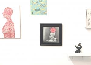 BARED, belgin yucelen sculpture, group exhibition at the Ground Floor Gallery Nashville Tennessee 3