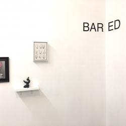 BARED, belgin yucelen sculpture, group exhibition at the Ground Floor Gallery Nashville Tennessee 1