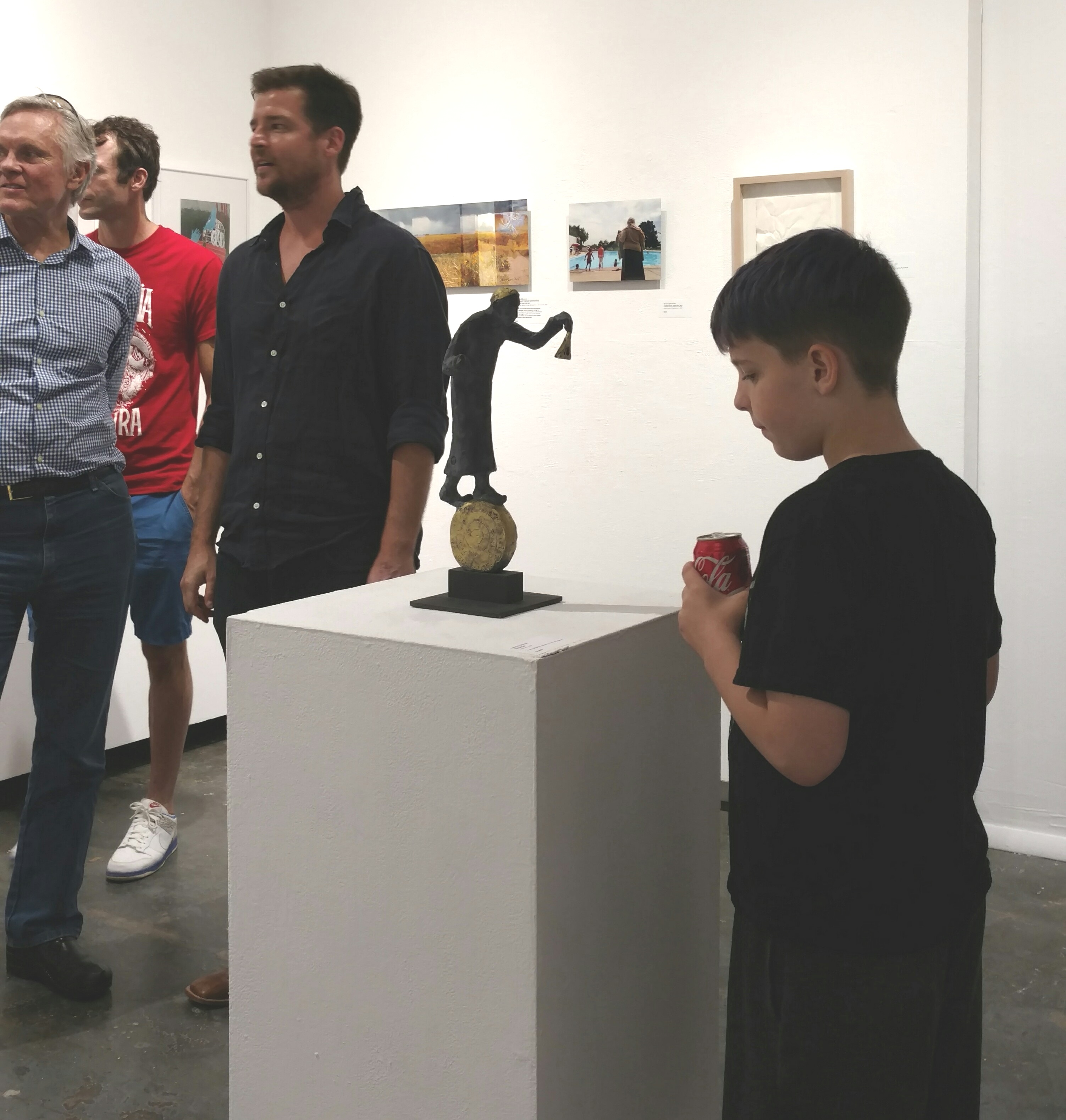 Paradox Art Show Spark Gallery Denver August 2017 Belgin Yucelen sculpture 3