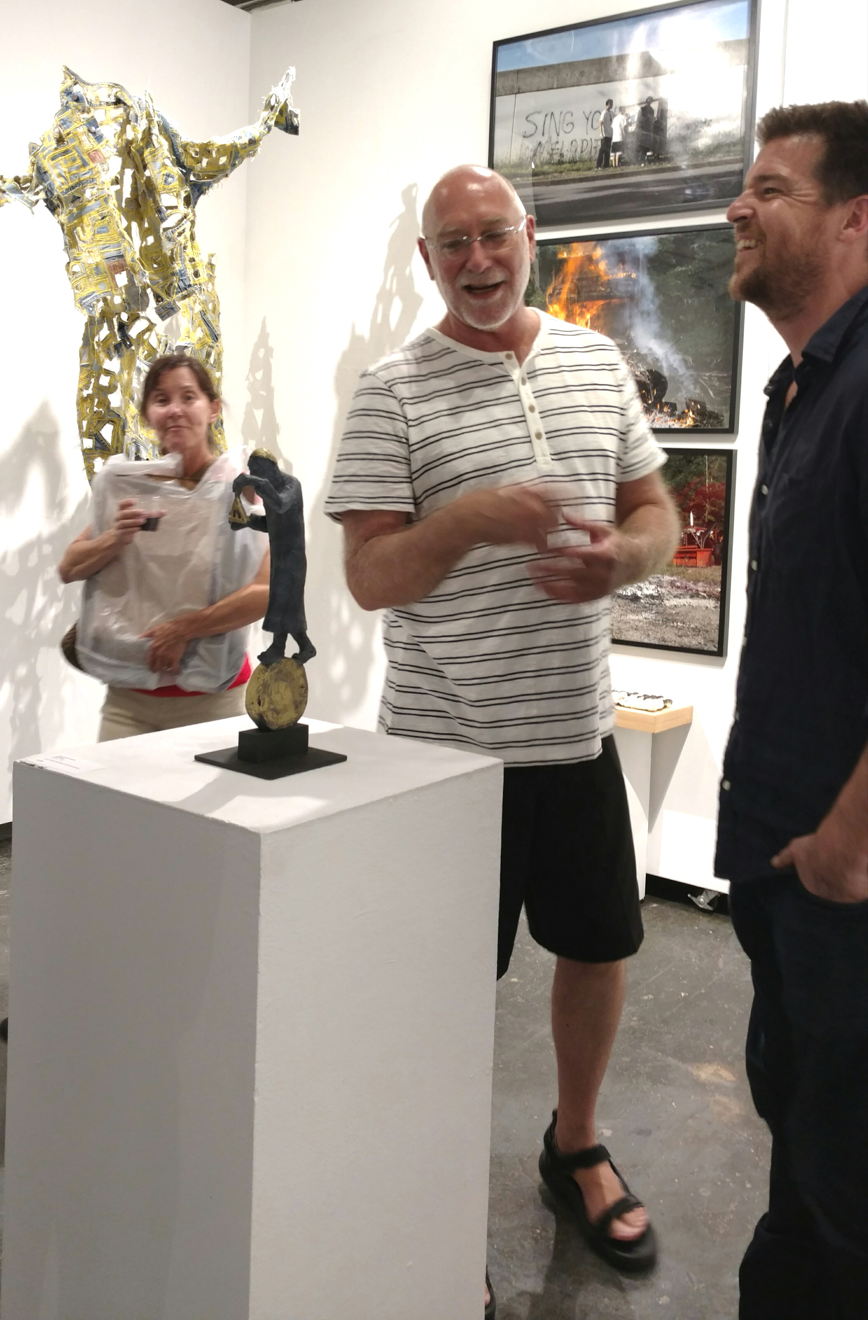 Paradox Art Show Spark Gallery Denver August 2017 Belgin Yucelen sculpture 4