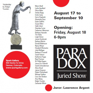 Paradox Show at the Spark Gallery sculpture by Belgin Yucelen