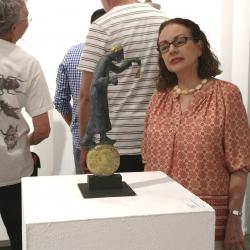 Paradox Art Show Spark Gallery Denver August 2017 Belgin Yucelen sculpture 1