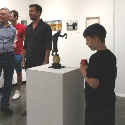 Paradox Art Show Spark Gallery Denver August 2017 Belgin Yucelen sculpture 3