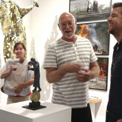 Paradox Art Show Spark Gallery Denver August 2017 Belgin Yucelen sculpture 4