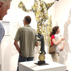 Paradox Art Show Spark Gallery Denver August 2017 Belgin Yucelen sculpture 8