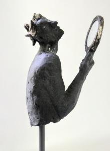 belgin yucelen, sculptor, sculpture, figurative sculpture, bronze, contemporary art, turkish artist, publication, art critique