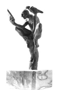 contemporary art, modern art, bronze, sculpture, figurative sculpture, bronze sculpture, Belgin Yucelen, sculptor