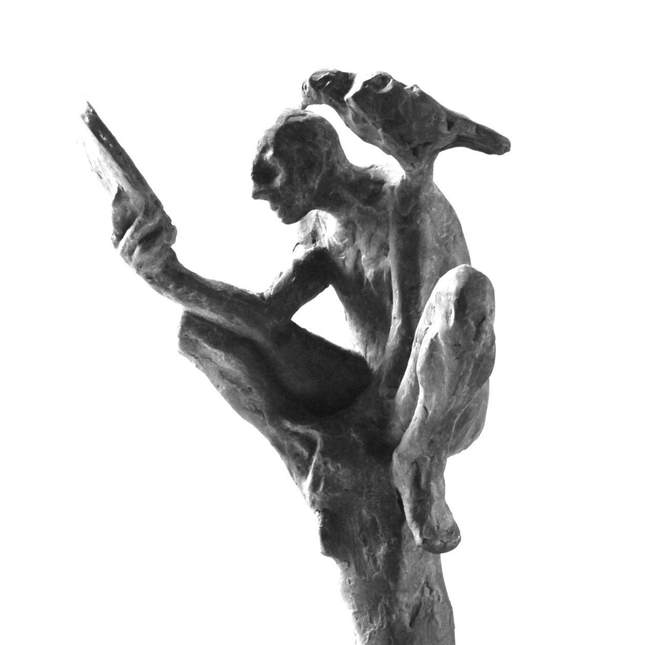 contemporary art, modern art, bronze, sculpture, figurative sculpture, bronze sculpture, Belgin Yucelen, sculptor