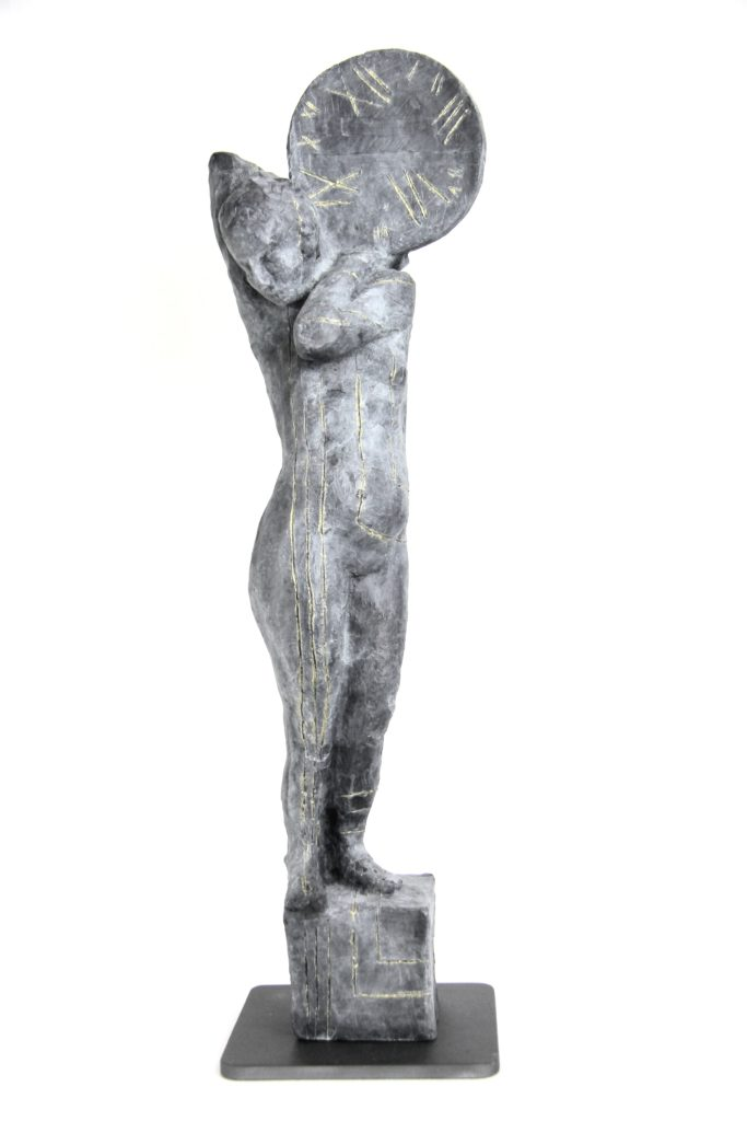 contemporary art, modern art, figurative sculpture, sculpture on time, poetry, poetic sculpture, bronze sculpture, figurative sculpture, sculptor, belgin yucelen, american sculptor, turkish sculptor