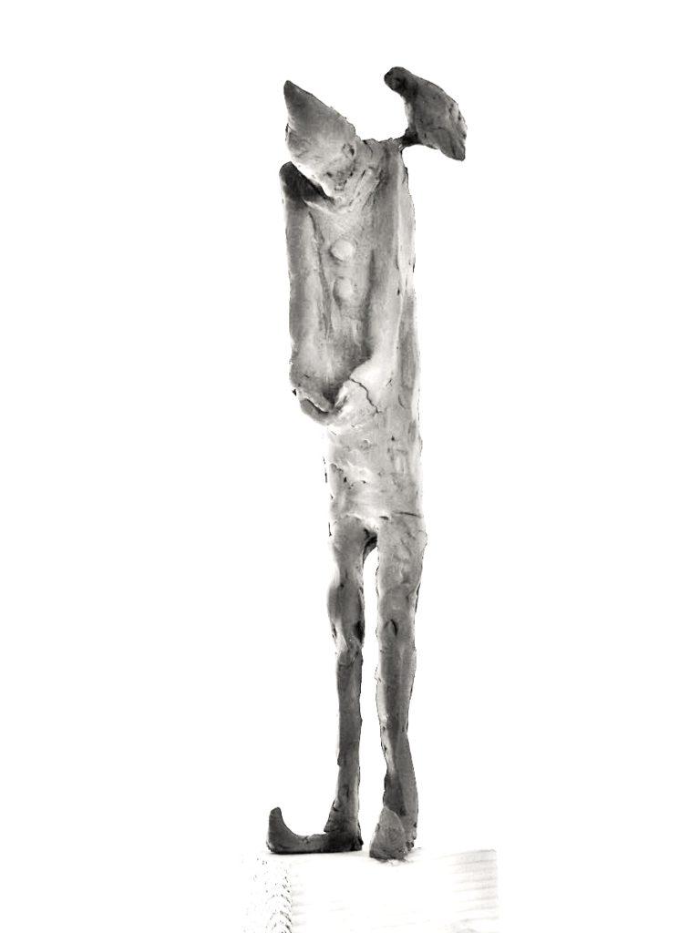 Pagliacci, opera, performing arts sculpture, bronze sculpture, contemporary art, figurative sculpture, sculptor, belgin yucelen