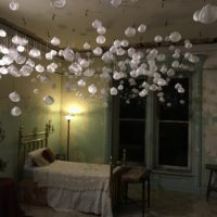 Words Installation at the Dole Mansion by Belgin Yucelen