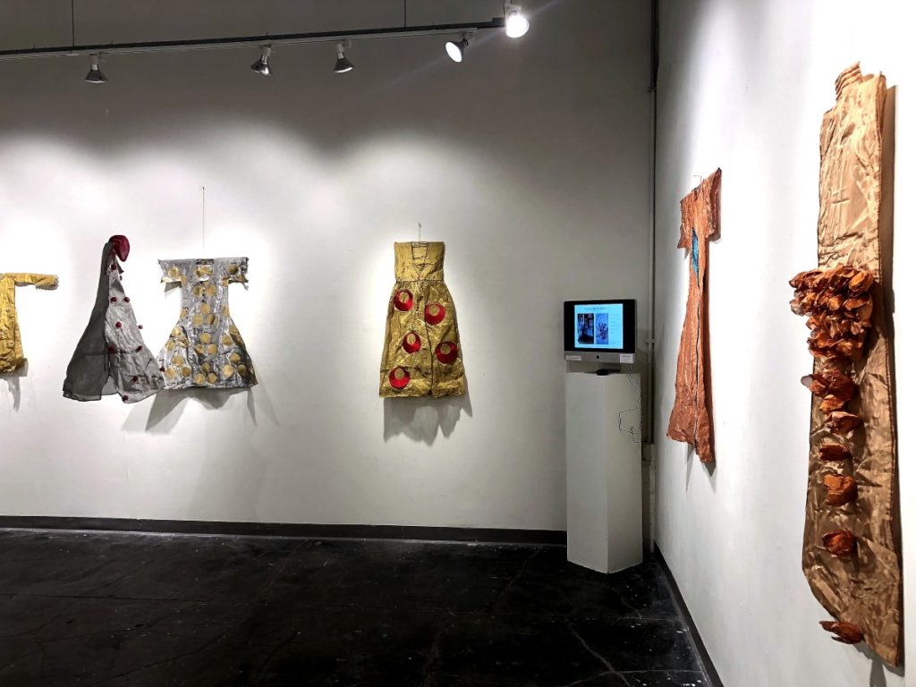 Clothes from the Past at ArtSpace by Belgin Yucelen