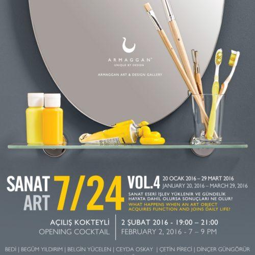 Sanat 7-24 Belgin Yucelen Istanbul Armaggan Gallery
